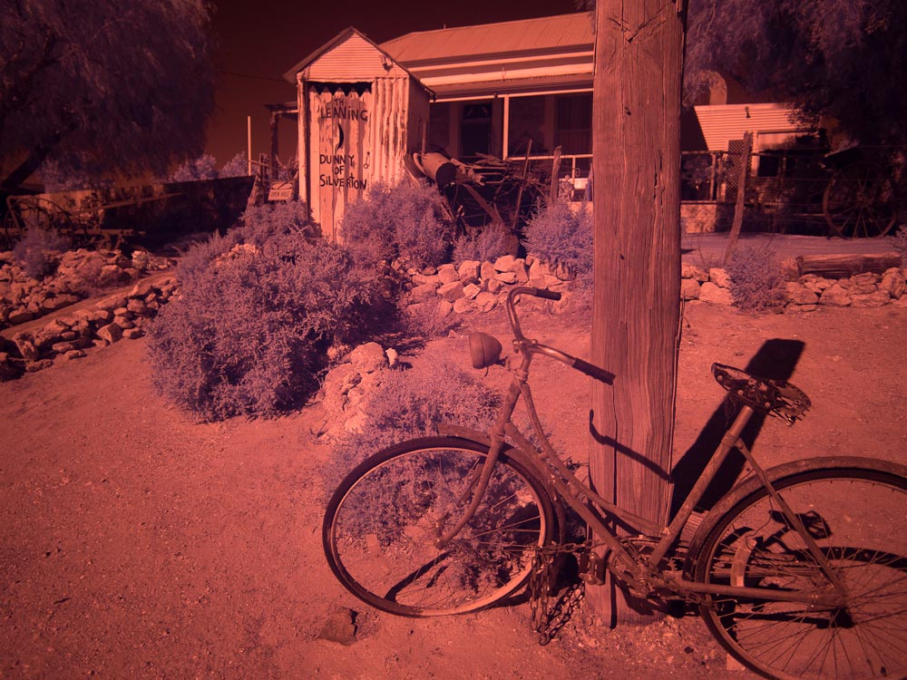 False color IR Silverton