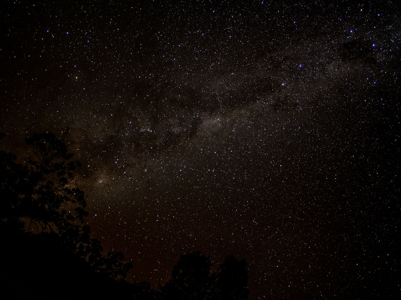 Milky Way 12mm at f/2.0 ISO 1600 20secs
