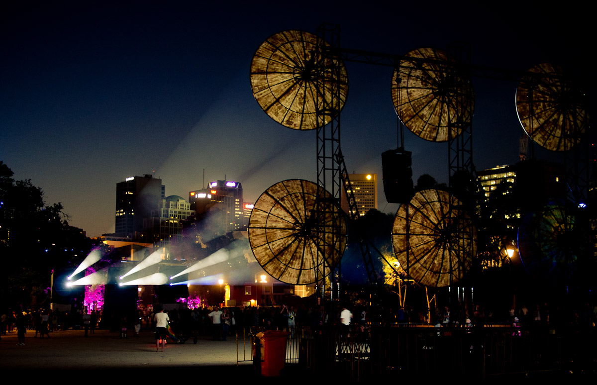 Birrarung Marr art installation