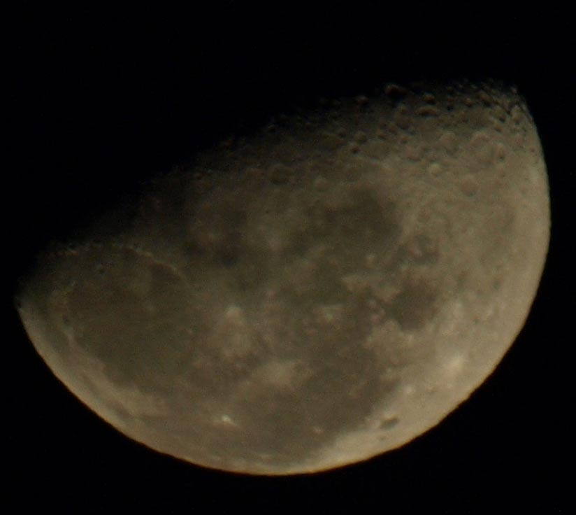 ZD50-200mm moon shot crop