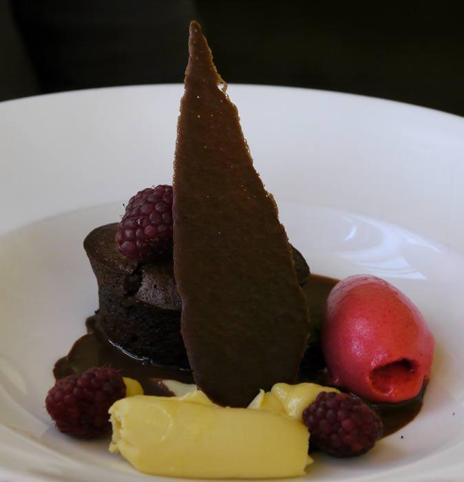 Dessert at ISO 1000