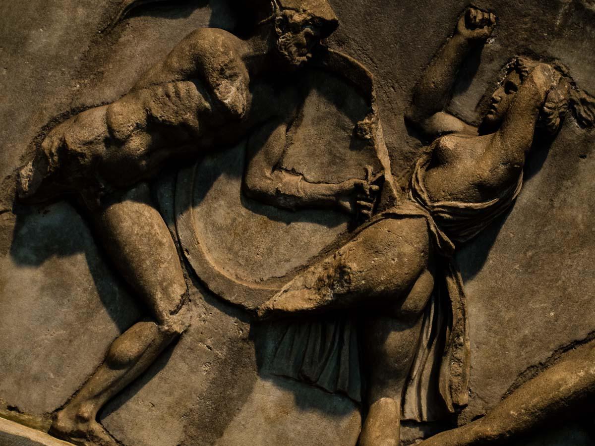 Amazon woman fighting