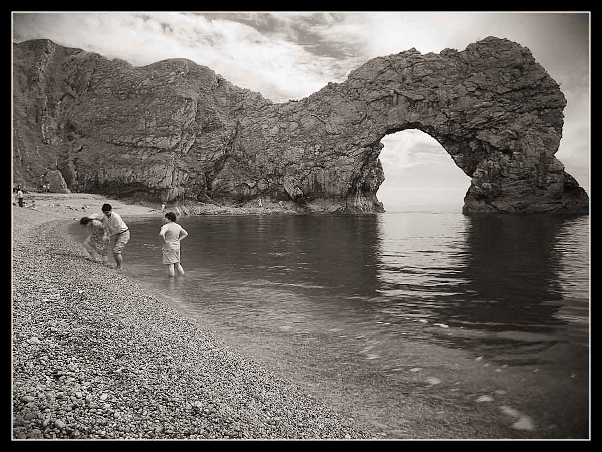 Durdle Door IR long exposure hand held