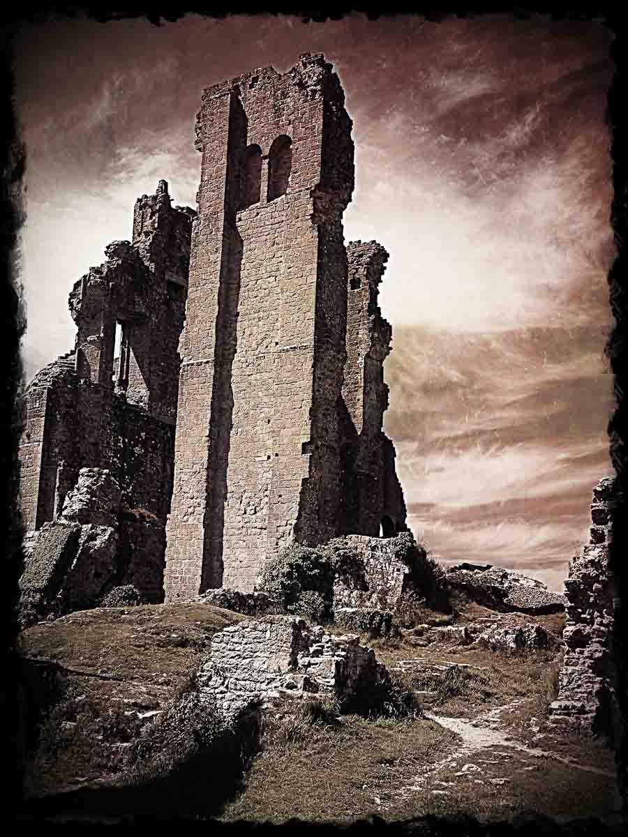 Corfe Castle IR