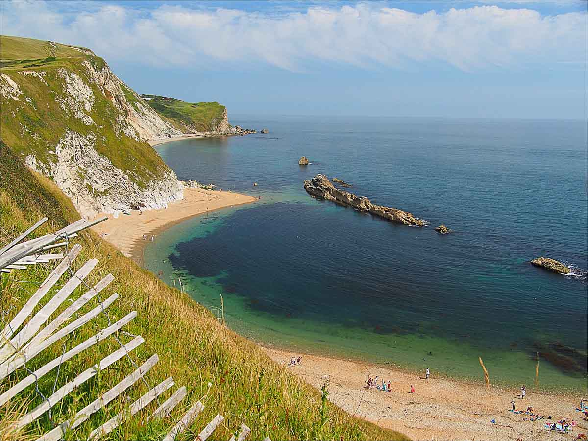 Durdle Door coast