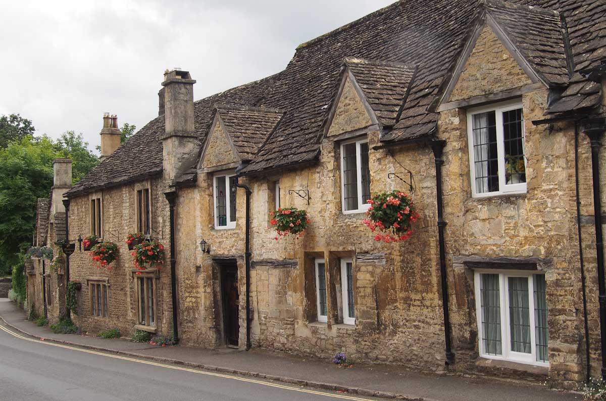 Castle Combe village