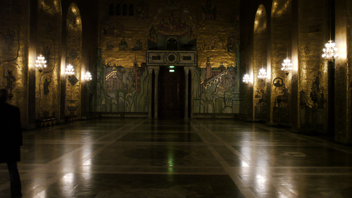 Stockholm's Golden Hall