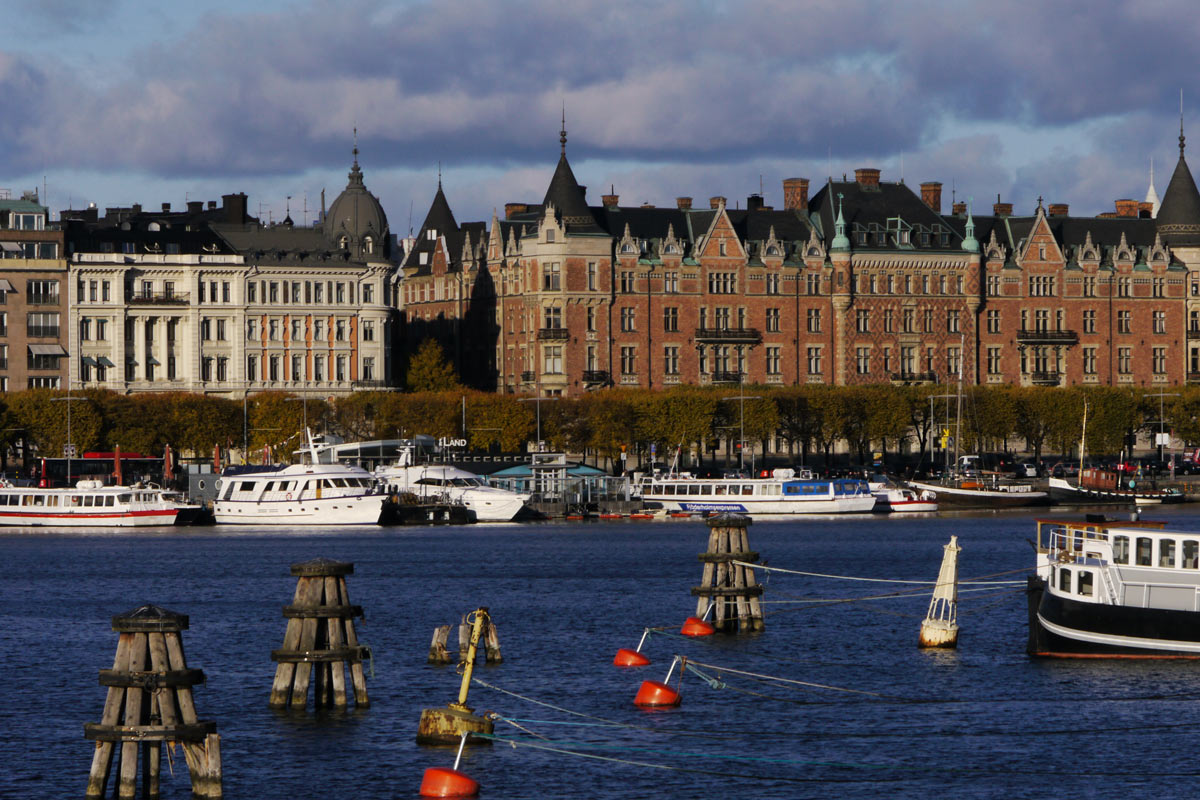 Stockholm's harbour