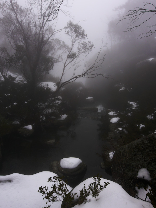 Treacherous cold beauty of Mt Buffalo